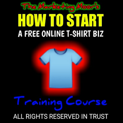 How to Start a Free Online T-Shirt Business Photo